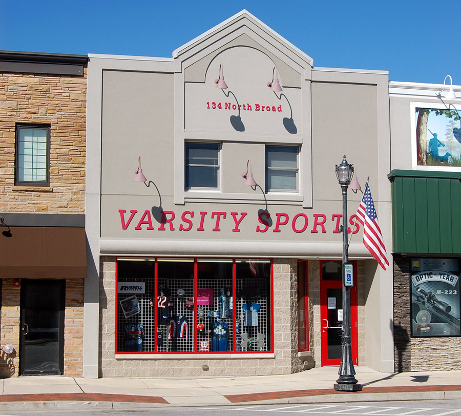 Varsity Sports - Griffith Store Front